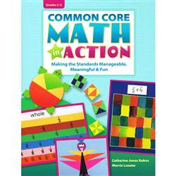 "Common Core Math "" Action Gr 3-5, ELP550276"