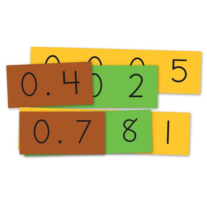 Student Size Place Value Stips Decimal Strips, ELP550297