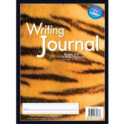 My Writing Journal Tiger 1/2 Rule Grades 2 - 3 By Essential Learning Products