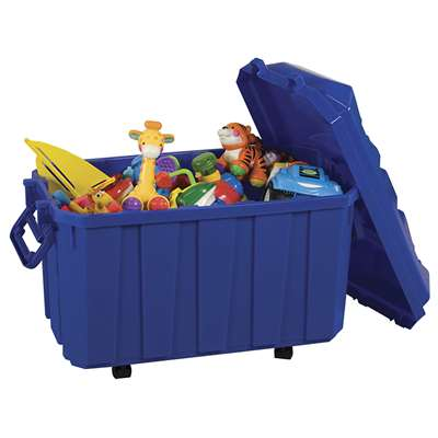 Stackable Storage Trunk Blue, ELR0659BL