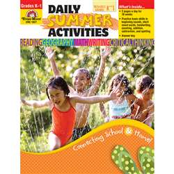 Daily Summer Activities K To 1St By Evan-Moor