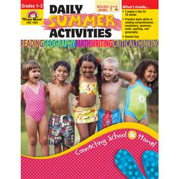 Daily Summer Activities 1St To 2Nd By Evan-Moor