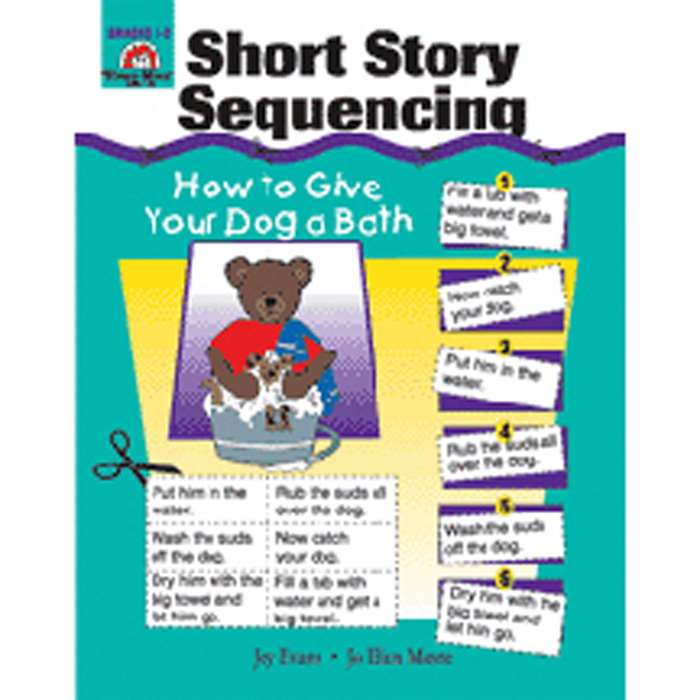Short Story Sequencing By Evan-Moor