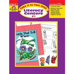 Take It To Your Seat Literacy Centers Gr K-1 By Evan-Moor