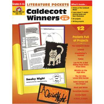 Literature Pockets Caldecott Winners Gr 4-6 - Emc2702 By Evan-Moor