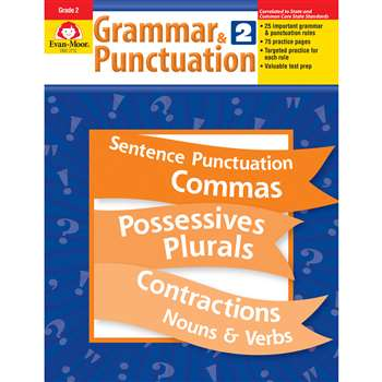 Grammar & Punctuation Grade 2 By Evan-Moor