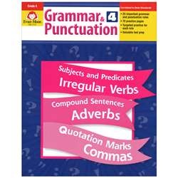 Grammar & Punctuation Grade 4 By Evan-Moor