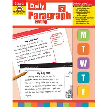 Daily Paragraph Editing Grade 2 By Evan-Moor