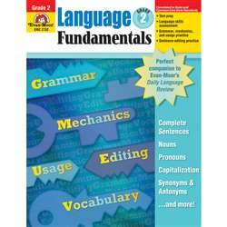 Language Fundamentals Grade 2 By Evan-Moor