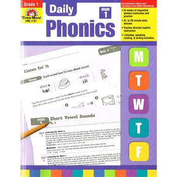 Daily Phonics Practice Gr 1 By Evan-Moor