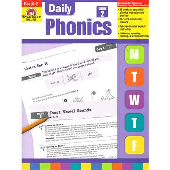 Daily Phonics Practice Gr 2 By Evan-Moor