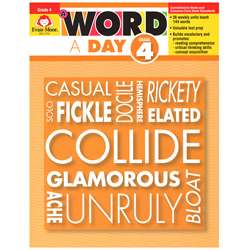 A Word A Day Gr 4 By Evan-Moor