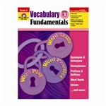 Vocabulary Fundamentals Gr 3 By Evan-Moor