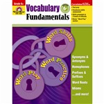 Vocabulary Fundamentals Gr 6 Plus By Evan-Moor