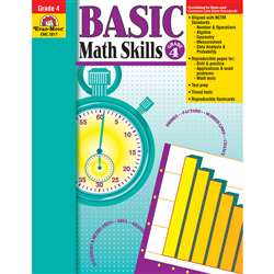 Basic Math Skills Grade 4 By Evan-Moor
