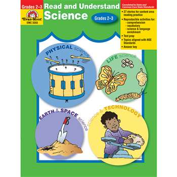 Read And Understand Science Grade 2-3 By Evan-Moor