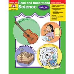 Read And Understand Science Grade 3-4 By Evan-Moor
