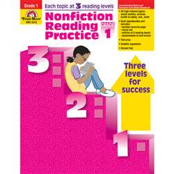 Nonfiction Reading Practice Gr 1 By Evan-Moor