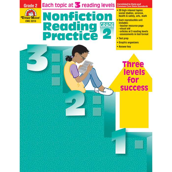 Nonfiction Reading Practice Gr 2 By Evan-Moor