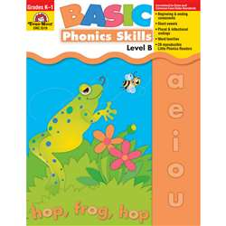 Basic Phonics Skills Level B By Evan-Moor