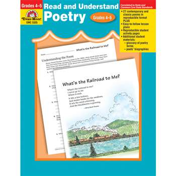 Read & Understand Poetry Gr 4-5 By Evan-Moor