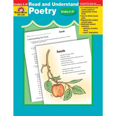 Read & Understand Poetry Gr 5-6 By Evan-Moor