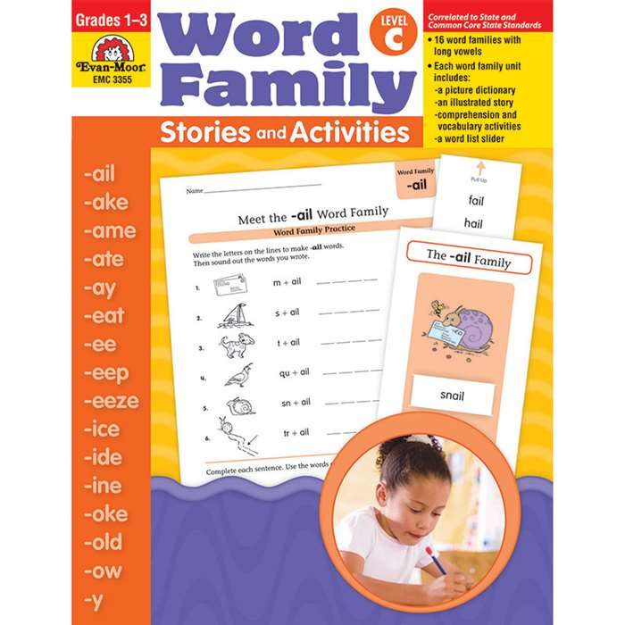 Word Fam Stories & Activities C By Evan-Moor