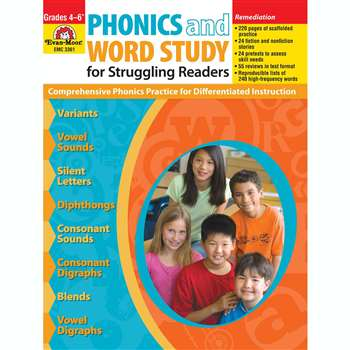 Phonics & Word Study For Struggling Readers By Evan-Moor