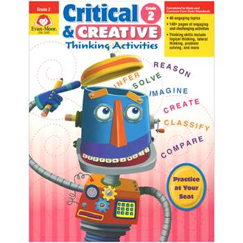 Critical And Creative Thinking Activities Gr 2 By Evan-Moor