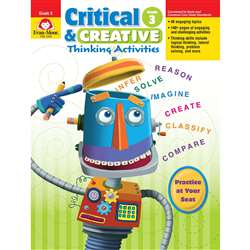 Critical And Creative Thinking Activities Gr 3 By Evan-Moor
