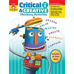 Critical And Creative Thinking Activities Gr 5 By Evan-Moor