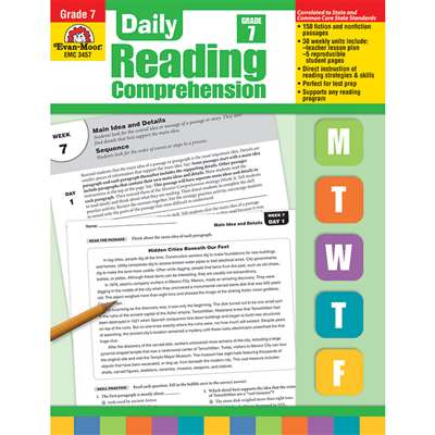 Daily Reading Comprehension Gr 7 By Evan-Moor