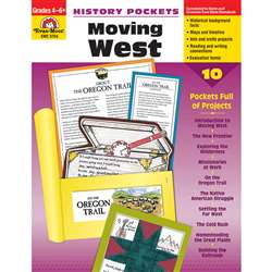 History Pockets Moving West By Evan-Moor