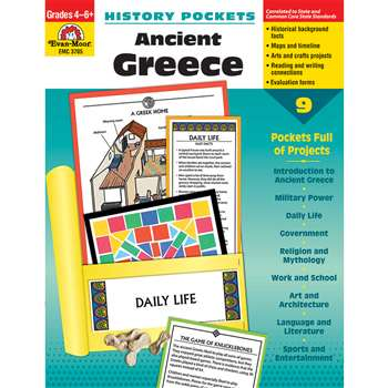 History Pockets Ancient Greece By Evan-Moor