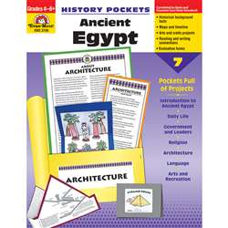 History Pockets Ancient Egypt By Evan-Moor