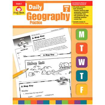 Daily Geography Practice Grade 2 By Evan-Moor