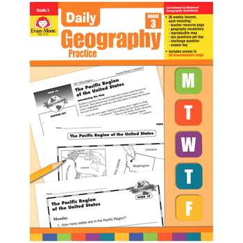 Daily Geography Practice Grade 3 By Evan-Moor