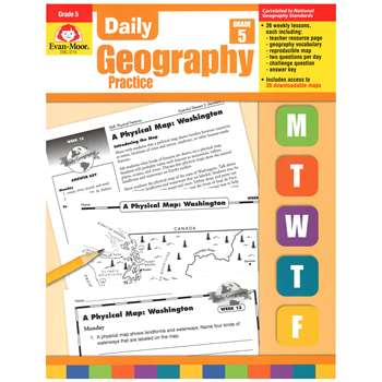 Daily Geography Practice Grade 5 By Evan-Moor