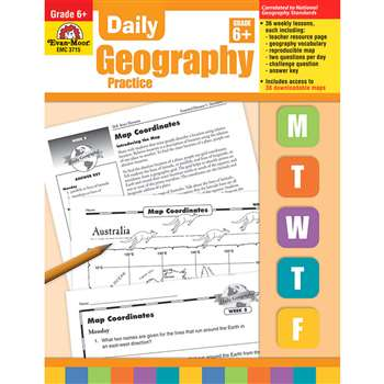 Daily Geography Practice Grade 6 By Evan-Moor