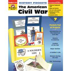 The American Civil War By Evan-Moor