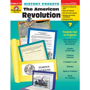 The American Revolution By Evan-Moor