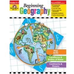 Beginning Geography By Evan-Moor