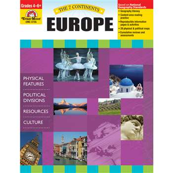 7 Continents Europe By Evan-Moor
