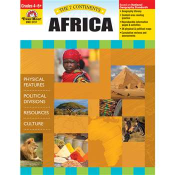 7 Continents Africa By Evan-Moor