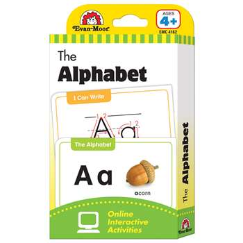 Flashcard Set The Alphabet By Evan-Moor