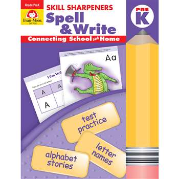 Spell & Write Pre Kindergarten By Evan-Moor