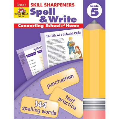 Spell & Write Grade 5 By Evan-Moor