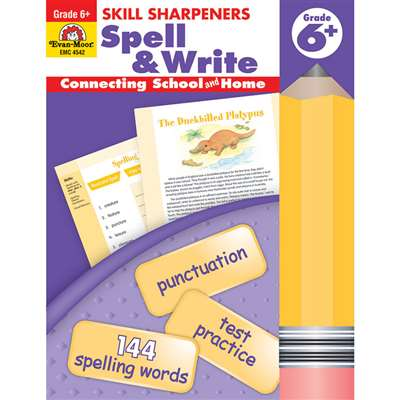 Spell & Write Grade 6 By Evan-Moor