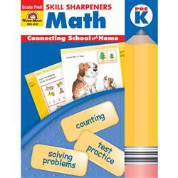 Math Pre Kindergarten By Evan-Moor