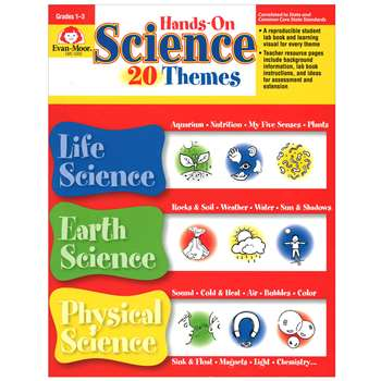 Hands-On Science Themes By Evan-Moor